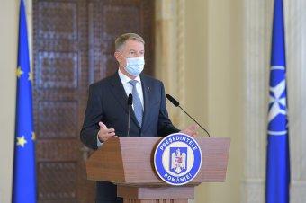 Iohannis szerint már csak korlátozó intézkedésekkel lehet megfékezni a járvány terjedését