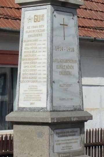 Gulag-emléktáblát avatnak Ajnádon