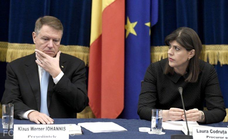 Klaus Johannis leváltotta Laura Codruța Kövesit a DNA éléről