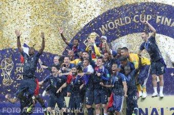 Húsz év után ismét világbajnok Franciaország