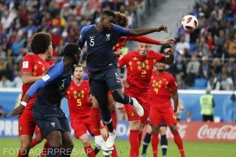 Belgium–Franciaország csúcsrangadó csütörtök este