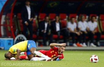 Hatalmas küzdelem után ejtette ki Brazíliát Belgium a labdarúgó világbajnokságon