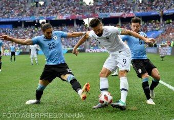 Franciaország az első elődöntős