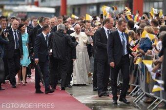 Ferenc pápa távozott Romániából