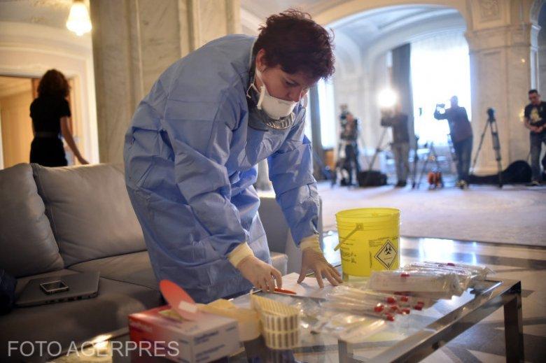 Koronavírus-helyzet hétfőn: 150 felett a fertőzöttek száma