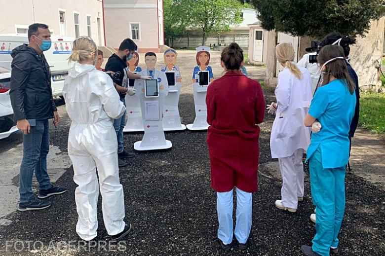 Virtuális asszisztensek vigyáznak a fertőzöttekre