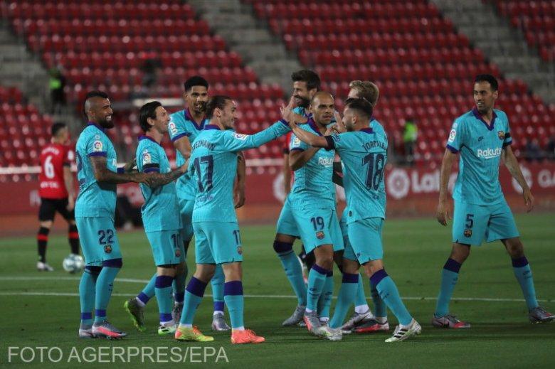A Leganés sem jelentett akadályt a Barcának