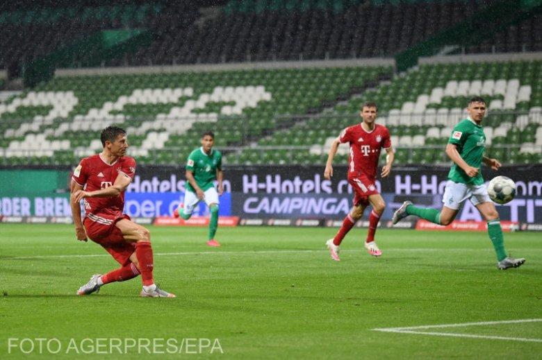 Lewandowski belőtte, bajnok a Bayern München