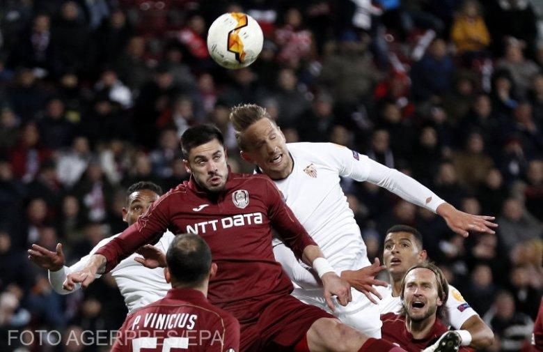 Európa Liga: kétgólos döntetlen Kolozsváron, nehéz helyzetben a CFR