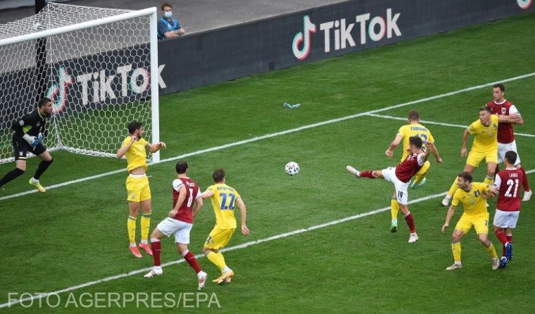 Ausztria legyűrte Ukrajnát, ott lesz a nyolcaddöntőben