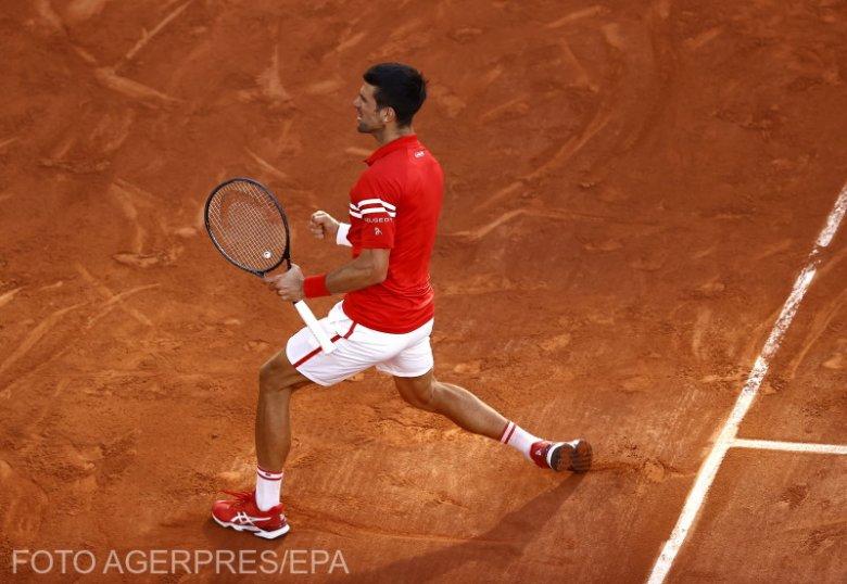 Roland Garros: kétszettes hátrányból fordított, Djokovic 19. Grand Slam-trófeáját nyerte