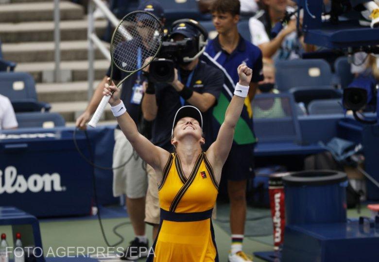 Simona Halep továbbjutott a US Open második fordulójába – frissítve