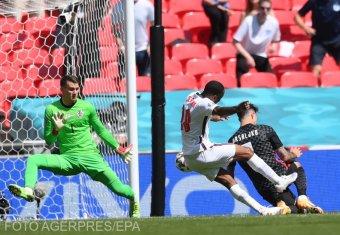 Egy gól, angol győzelem született a horvátok ellen