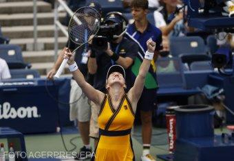 Simona Halep nyolcaddöntős New Yorkban