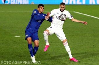 A visszavágóra hagyta a döntést a Real Madrid és a Chelsea
