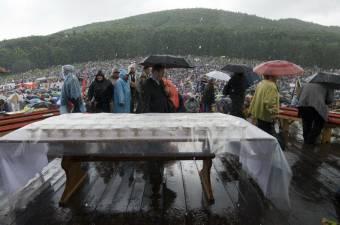 Esőre lehet számítani a csíksomlyói pápalátogatás napján