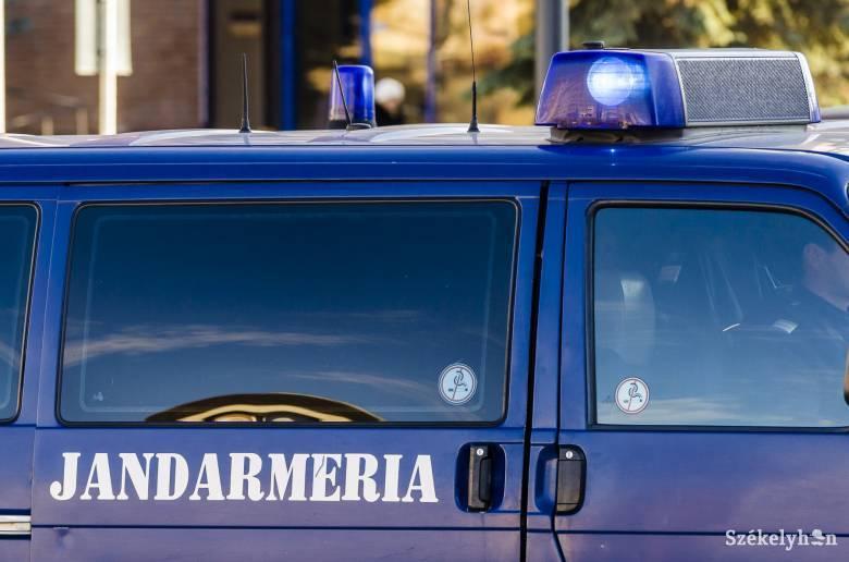 Csendőrautó ütött el egy nőt Sepsiszentgyörgyön