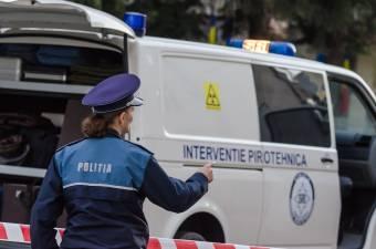 Hamis bombariadó a bukaresti ítélőtábla épületében