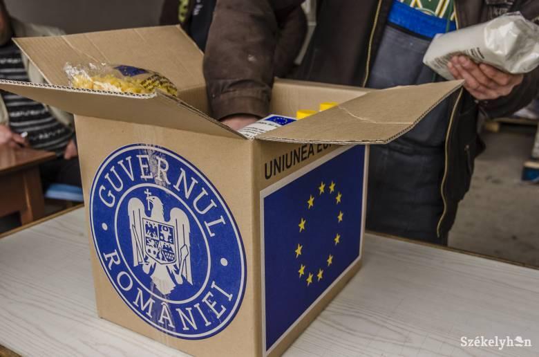 Érkezik az uniós élelmiszersegély a rászorulóknak