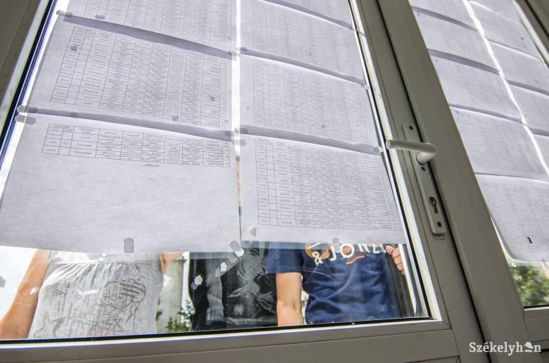 Élen Hargita megye a pótérettségi átmenési arányát tekintve