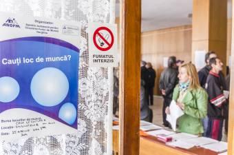 Enyhén csökkent a munkanélküliségi ráta Romániában
