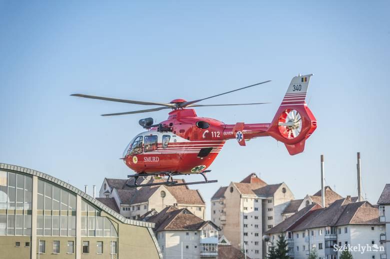 Épülhet Csíkszeredában a helikopter-leszállóhely