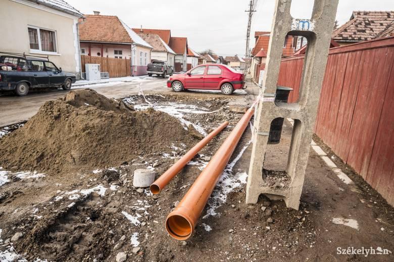 Jövőre készülhet el a felcsíki ivóvíz- és csatornahálózat-építés