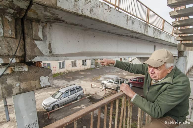 """Az egykori építésvezető a vasúti felüljáró hídról: """"nyugodtan elmondható, hogy életveszélyes"""""""