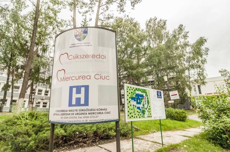 Intenzív terápiás ágyakat kapott a csíkszeredai kórház