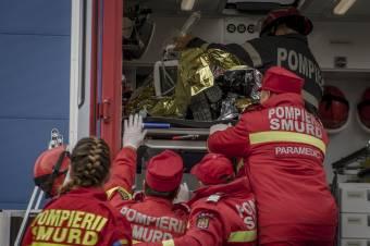 Tűz ütött ki a slatinai megyei sürgősségi kórház pszichiátriai osztályán
