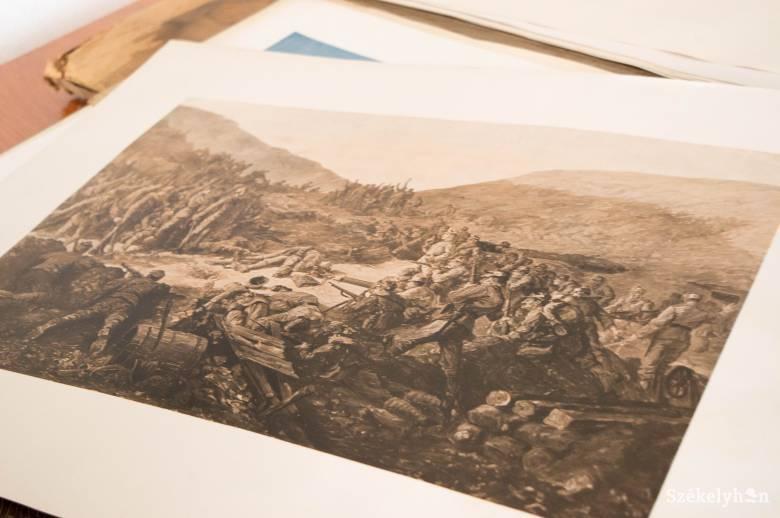 Az első világháború hangulata művészi megközelítésben