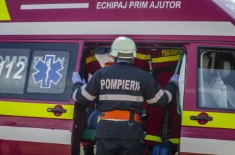 Halálos közúti baleset történt Gyergyóalfalu Borzont felőli kijáratánál