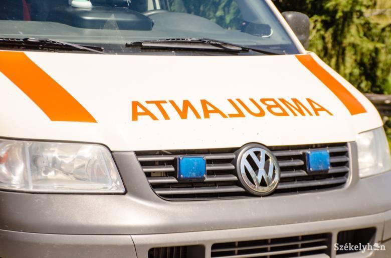 Gyalogost ütöttek el az átjárónál Keresztúron