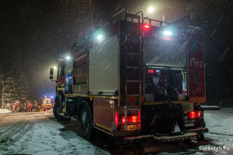 A hőmérséklet csökkenésével megnőtt a tűzesetek száma