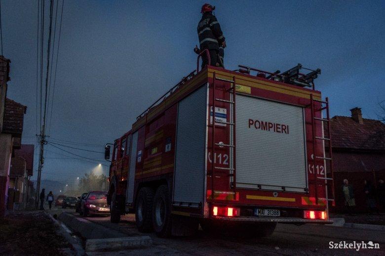Rövidzárlat okozott tüzet egy zeteváraljai lakóházban