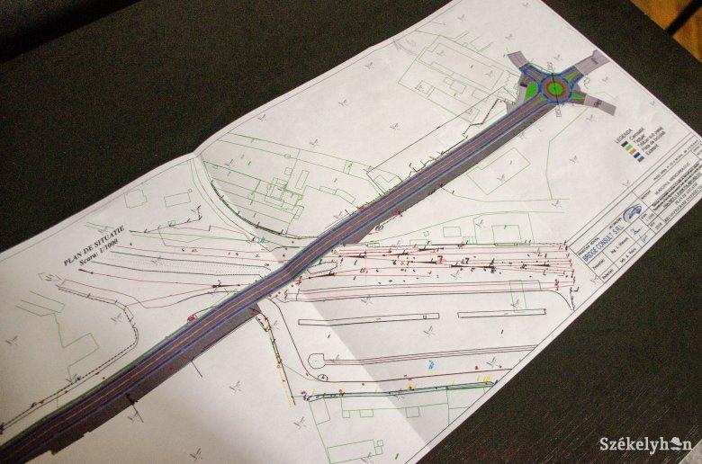 Egy év alatt építenék újjá a csíkszeredai vasúti felüljárót – már megvan a terv