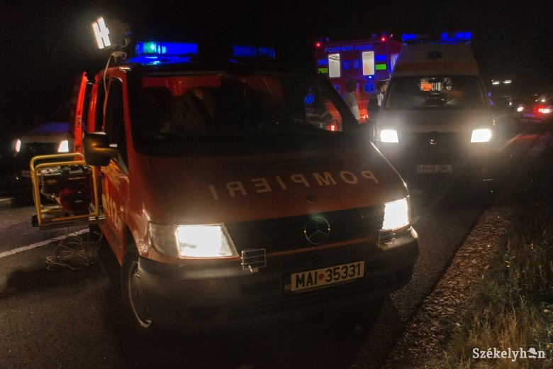 Túlzott sebesség és szabálytalan fordulás miatt történt halálos baleset Marosvásárhelyen