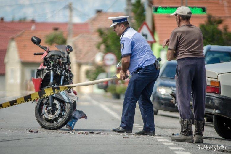Négy motoros is balesetezett hétvégén