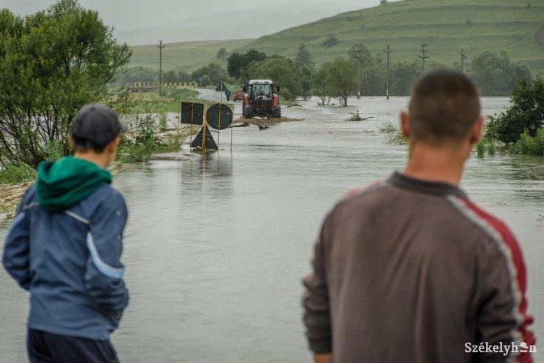 Helyi jellegű árvizeket okozhat a jelentős csapadék