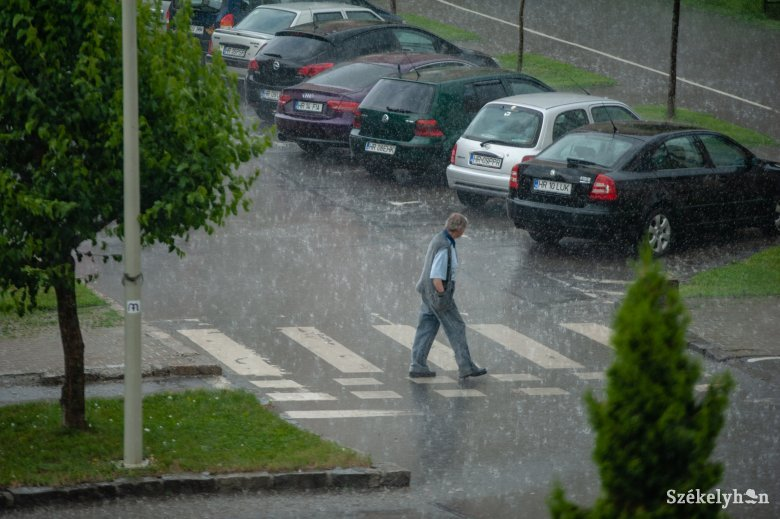 Kitart a rossz idő jövő hét elején is