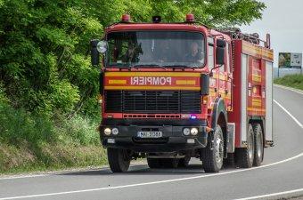 Rövidzárlat miatt égett ki egy traktor Gyergyócsomafalvánál