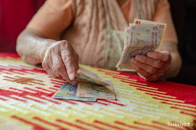 Átlag alattiak a székelyföldi nyugdíjak