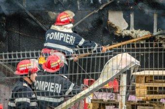 Lakóház tetőszerkezete lángolt Csíkszeredában