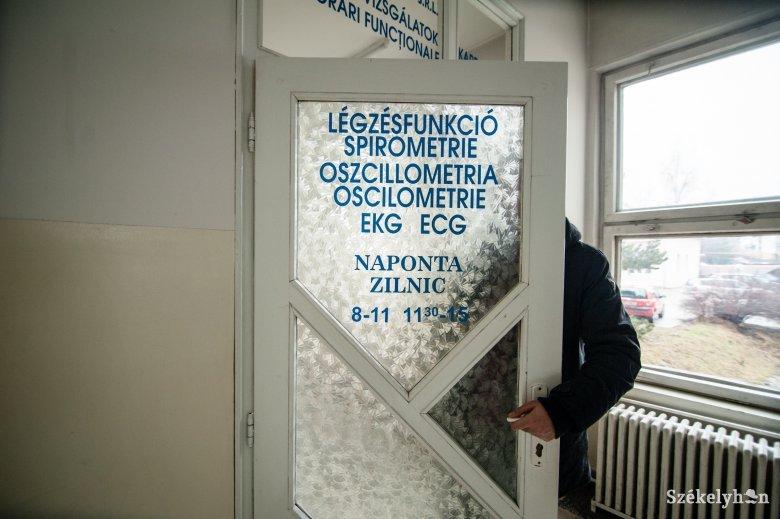 Új helyszínen a belgyógyászati szakrendelésa csíkszeredai kórháznál