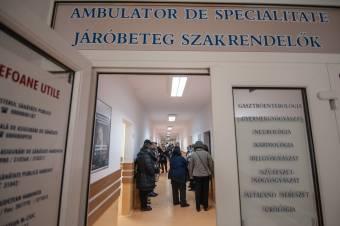 Hargita megye: kórházanként két-három szakterületen van komoly orvoshiány a járóbeteg-ellátásban