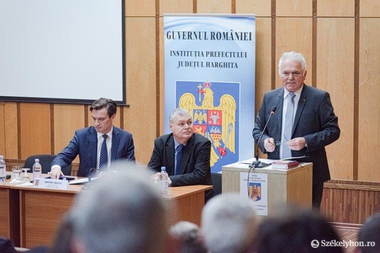 Ismét Hargita megyei alprefektus Petres Sándor