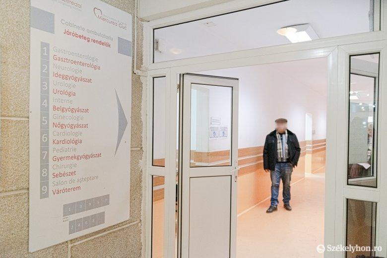 Ismét működik a járóbeteg-rendelés a csíkszeredai kórházban