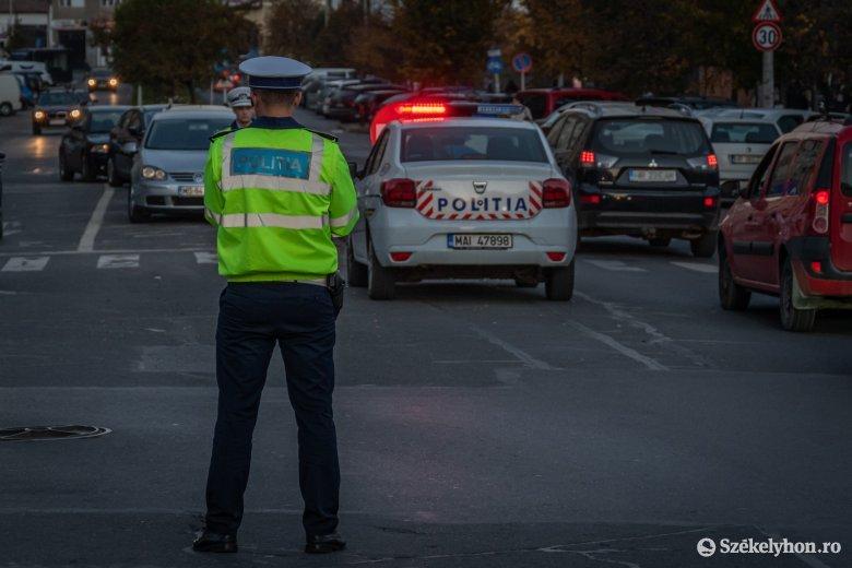 Autós üldözés törte meg a délutáni csendet Csíkszeredában