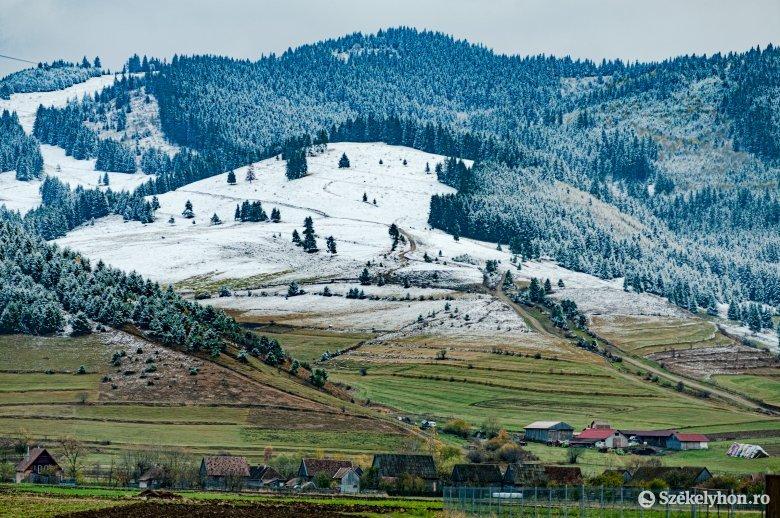 Szombaton havazhat a hegyekben, vasárnap enyhe felmelegedésre lehet számítani