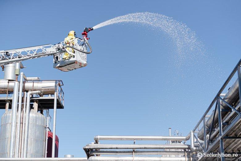 A sörgyárhoz riasztották a tűzoltókat